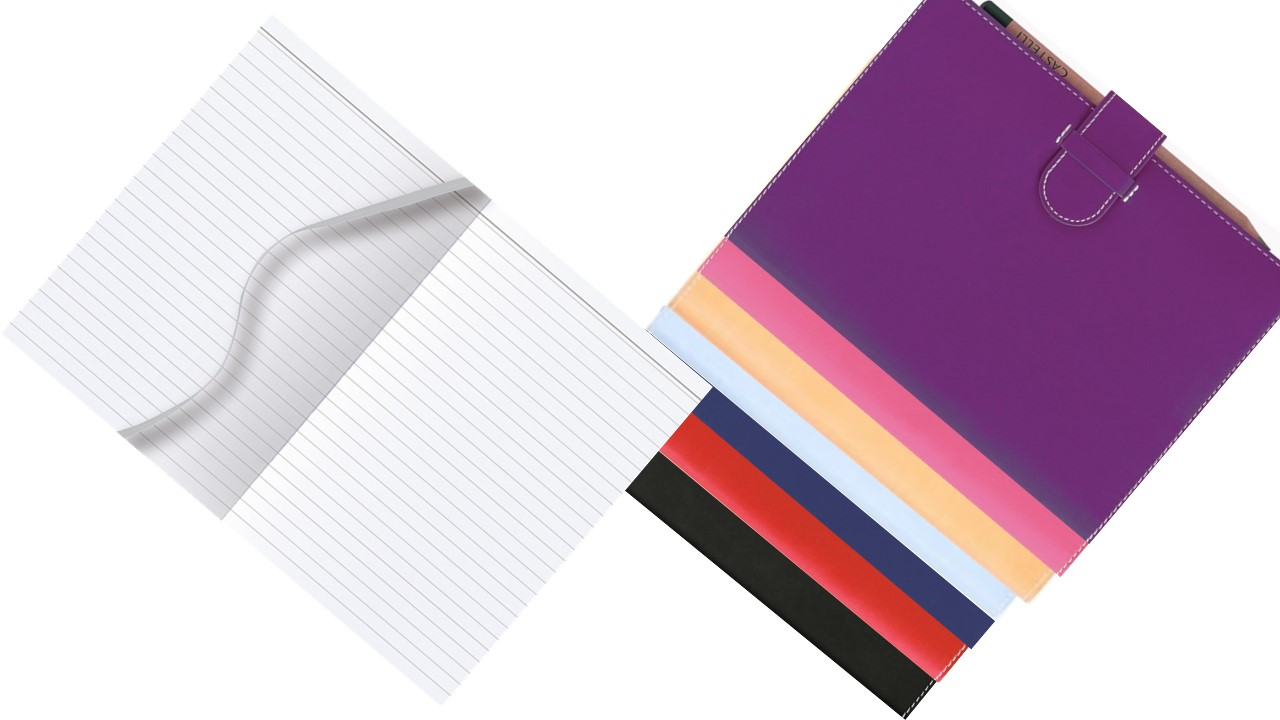 Arles Castelli A5 Medium Notebook