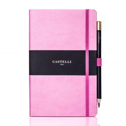 Pink Tucson Ivory Medium Notebook