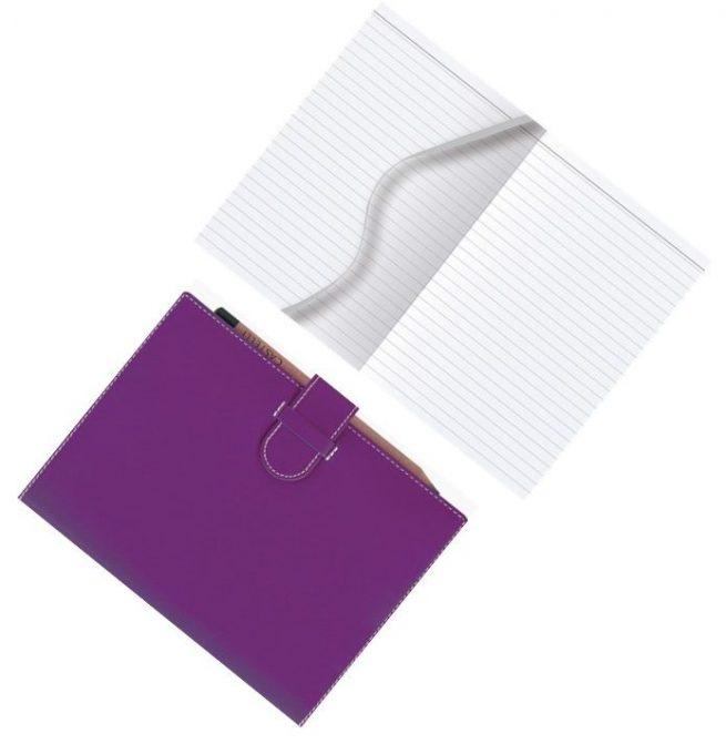 Purple Arles A5 Notebook