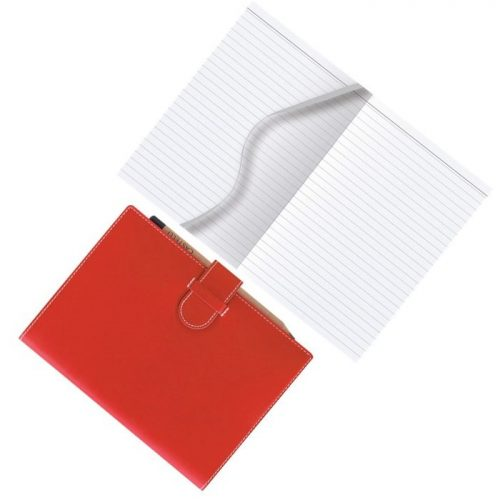 Red Arles A5 Notebook