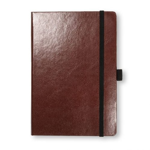 Burgandy Cordoba Medium Leather Notebook