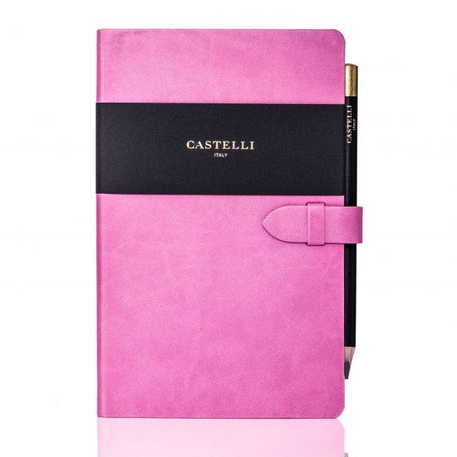 Pink Mirabeau Medium Notebook