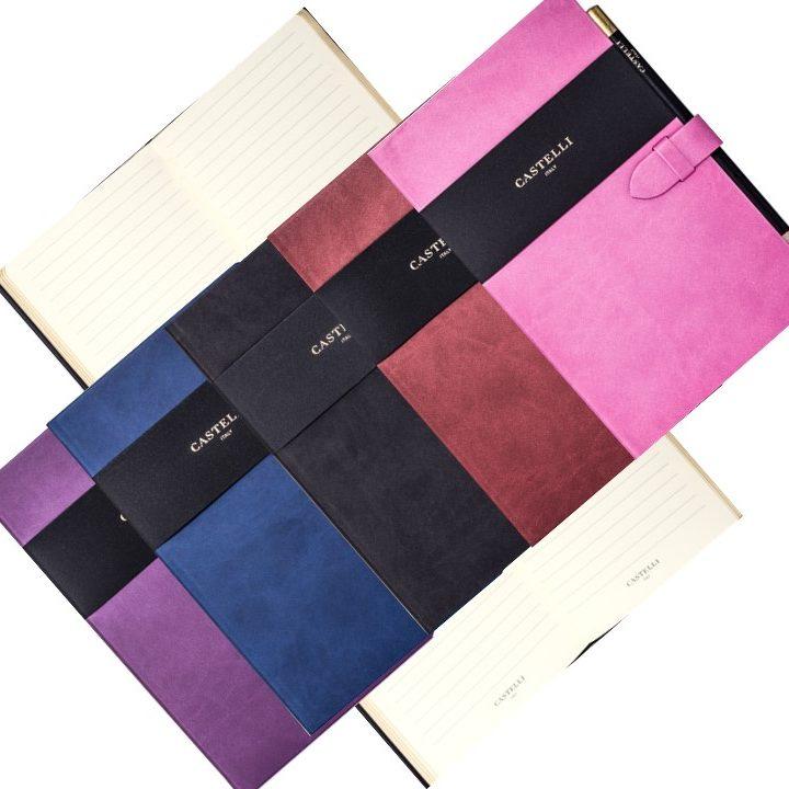 Mirabeau A5 (Med) Clasp Castelli Notebook