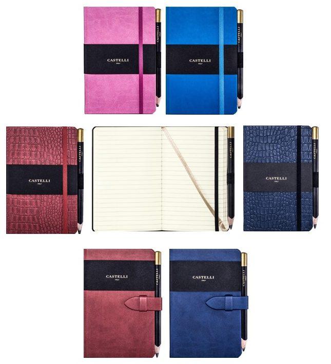 Small Pocket Castelli Notebook