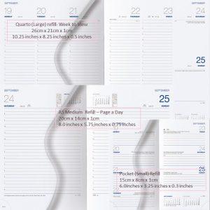 2020 Diaries - Arles Refills