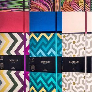 Multi-coloured designer range