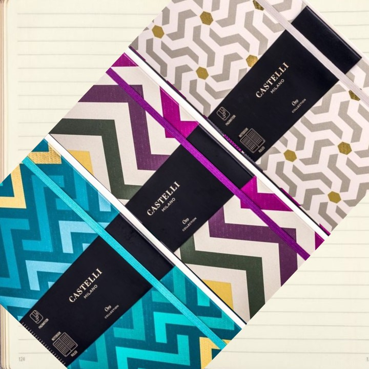 Oro Castelli Designer Notebooks
