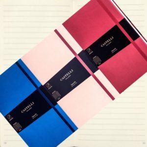 Aquarela Castelli Designer Notebooks